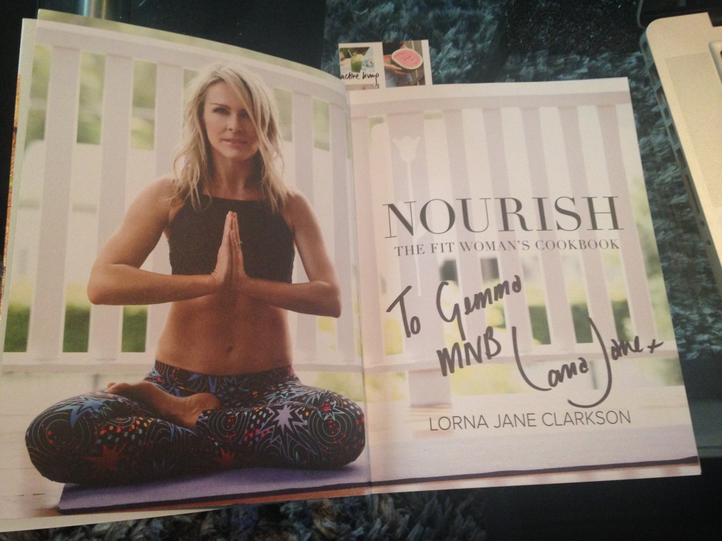My copy of NOURISH